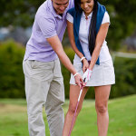 Men And Women go Golfing Together