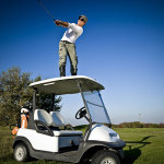 Tee Off With Disc Golf at the Top of your buggy
