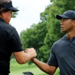 Tiger Woods and Phil Mickelson showdown
