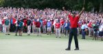 A Cast of Thousands joins Tiger Woods on his Victory march