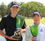 Bong and Rooke claim Greg Norman Junior Masters