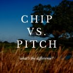 What is the difference between a chip shot and a pitch shot?
