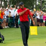 On golf: Tiger Woods showed that he was not back with a shot, but with a look
