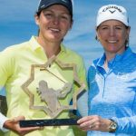 Celine Herbin wins one in Spain while Charlotte Thompson comes in third
