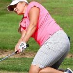 Charlotte Thompson & Esther Henseleit share the lead during Ladies European Tour event in Spain