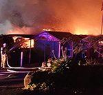 Fire destroys Wentworth Golf Club