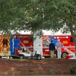 Six people injured after lightning strike at Tour Championship