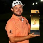 Turkish Open: Tyrrell Hatton wins playoff with six men