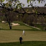 As the golf courses reopen, new players take the long walk