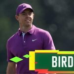 The Masters 2020: Rory McIlroy hole bunker shot for birdie on 12th hole