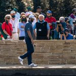 The Masters tournament allows a limited number of fans to participate