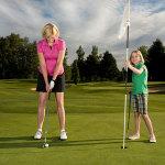 Junior golf training
