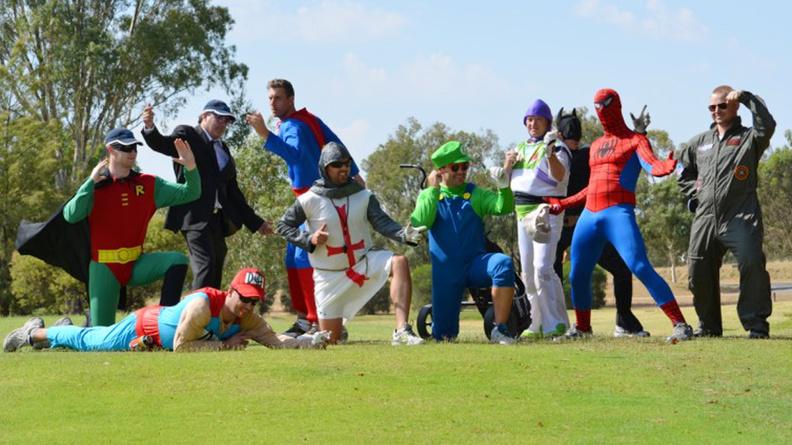 Golfing heroes look great in appropriate Golfing Apparel
