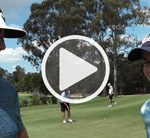 VIDEO: McCardle surprised young caddy