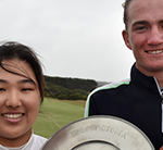Yoon and Stubbs win Junior Vic Open