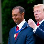 & # 39; I have fought, & # 39; says Tiger Woods accepting the presidential medal of freedom