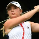 Women's British Open: Bronte Law & Georgia Hall in conflict on Woburn