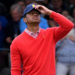 Tiger Woods & # 039; American team struggles in the Presidential Cup