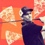 In a downward spiral, the golfer considered opening the pizzeria. Now he's back at the top of his game