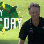 The Masters 2020: Bernhard Langer sinks 63-foot birdie putt at Augusta
