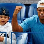 Tiger Woods joins 11-year-old son Charlie at the Orlando event