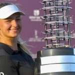 After making history, the Danish golfer is a star on the rise