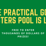 Our Masters Pool is live! Enter for a chance to win thousands of dollars in prizes